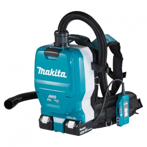 Аккумуляторный ранцевый пылесос Makita DVC265ZXU (каркас)