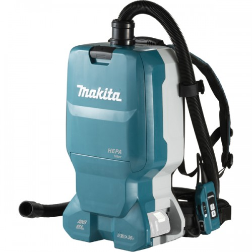 Аккумуляторный ранцевый пылесос Makita DVC665Z (каркас)