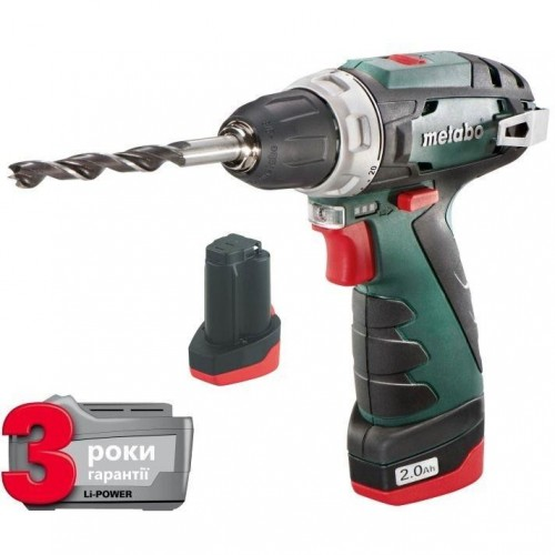 Акк. Шуруповерт Metabo PowerMaxx BS Basic