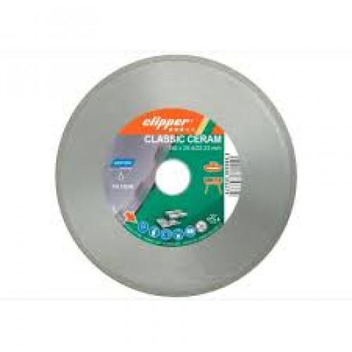 Диск алмазный по керамике Norton Clipper CLIPPER CLA CERAM 180x25,4/22,2 мм 70V021