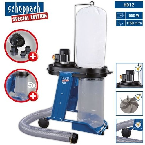 Стружкоотсос Scheppach HD12 (3906301915)