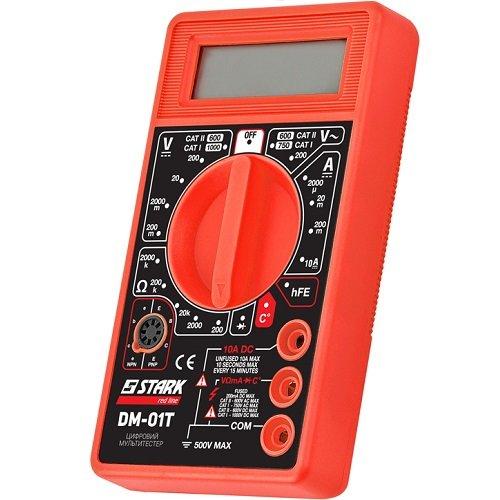 Цифровой мультитестер Stark DM-01T (290080100)