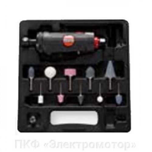 Пневматическая прямая шлифовальная машина Suntech SM-51-3011BK с набором (SM-51-3011BK)