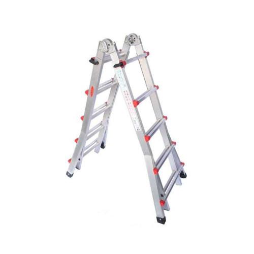 Телескопическая лестница SVELT SCALISSIMA 10+10 ступеней