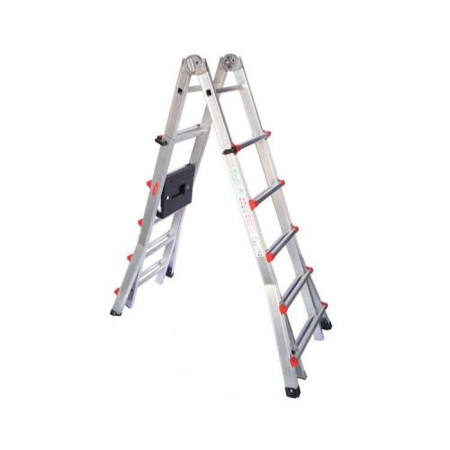 Телескопическая лестница SVELT SCALISSIMA 11+11 ступеней