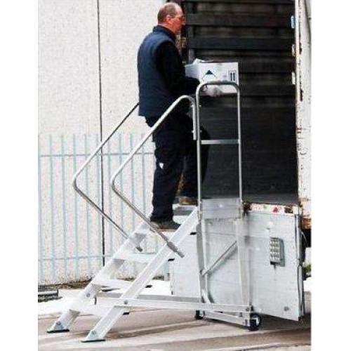Лестница с платформой SVELT IKARO 5 ступеней (ширина 60 см)