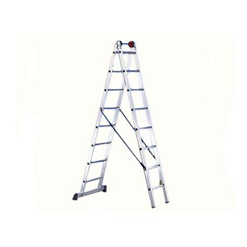 Двухсекционная лестница SVELT EURO E2 8 STEPS