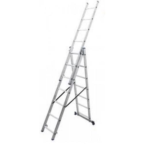 Лестница 3-х секционная VIRASTAR TRIOMAX 3x7 (VTL037)