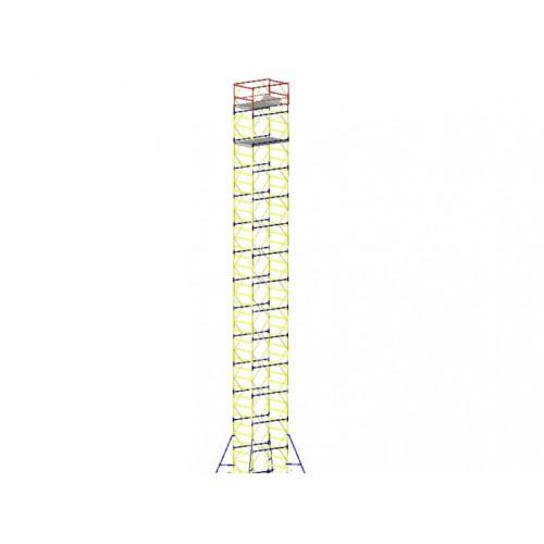 Вышка-тура VIRASTAR «ОПТИМА» 1,2x2x13,3 м, 9+1 (VST201291)
