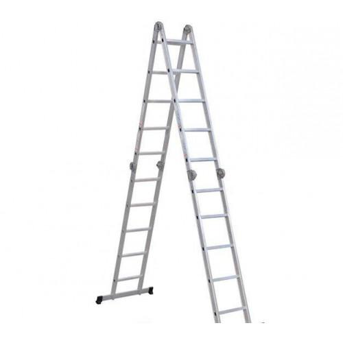 Шарнирная лестница-стремянка VIRASTAR Hercules 4x5 ступеней