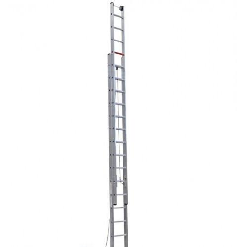 Двухсекционная лестница выдвигаемая тросом VIRASTAR 2x15 ступеней