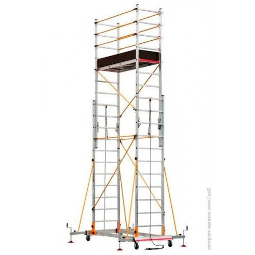 Вышка-тура VIRASTAR TELESAFE XL 0,6x1,5x7 м, 2x11 S006XL