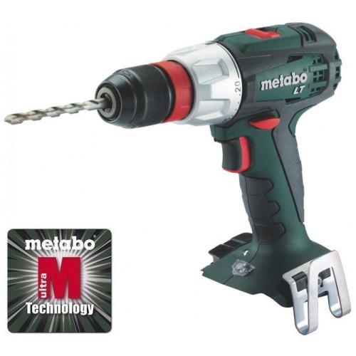 Аккумуляторный шуруповерт Metabo BS 18 LT Quick (каркас + MetaLoc)