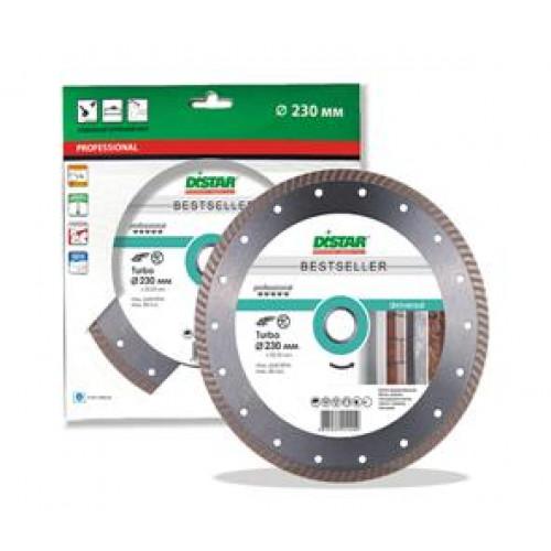 Алмазный круг Distar Turbo 230x2,6x9x22,23 Bestseller Universal