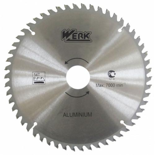 Пильный диск по алюминию 210x30, 54 зуб. Werk
