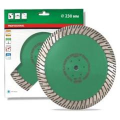 Алмазный круг Distar Turbo 230x3,0x10/25x22,23-M14F Duplex