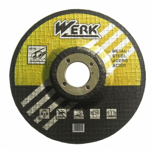 Круг зачистной по металлу 115х6,3х22,23 Werk