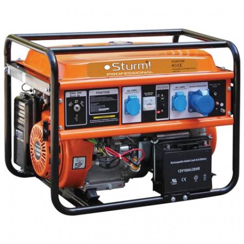 Бензиновый генератор STURM PG8755E