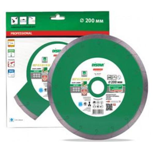 Алмазный круг Distar 1A1R 200x1,7x10x25,4 Granite Premium