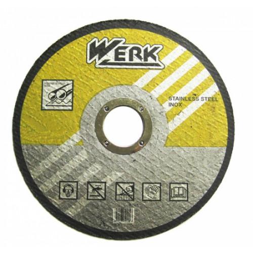 Круг отрезной по металлу 180х1,6х22,23 Werk