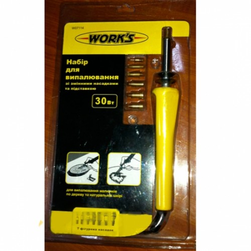 Набор для выжигания Work`s W07114 30W