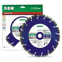Алмазный круг Distar 1A1RSS/C3-W 230x2,6/1,8x22,23-16-ARP 38x2,6x8+2 R105 Super