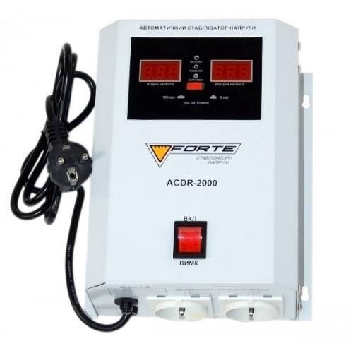 Релейный стабилизатор FORTE ACDR-2kVA