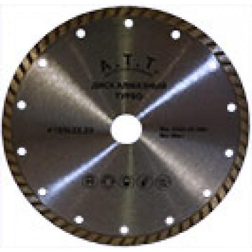 Круг отрезной с алмазным напылением ATT Турбо 230*22,2 мм