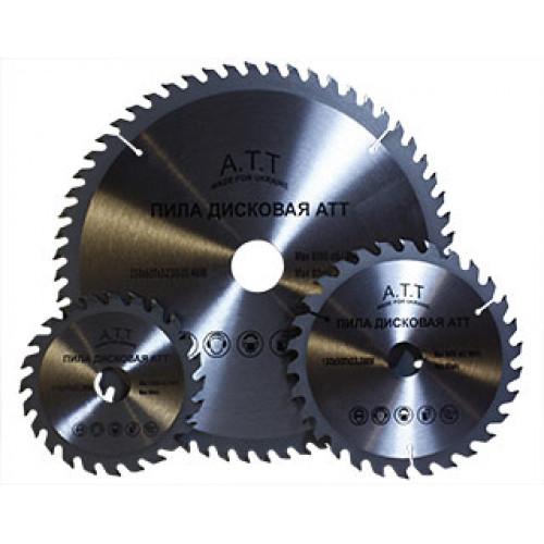 Пильный диск c напайкой по дереву ATT 150х22,2х30Т