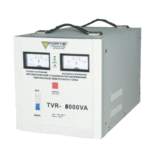 Релейный стабилизатор FORTE TVR-8000VA