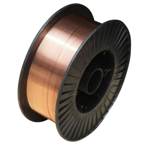 Сварочная проволока омедненная ER 70S-6; 1,0 мм х 15 кг