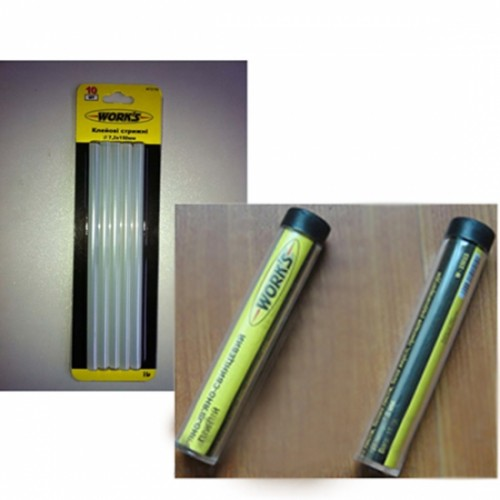 Клеевые стержни 7,2х150 мм W72150 Work`s