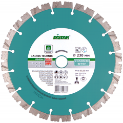 Алмазный круг Distar 1A1RSS/C3 232x2,6/1,8x12x22,23-16-HIT Technic Advanced