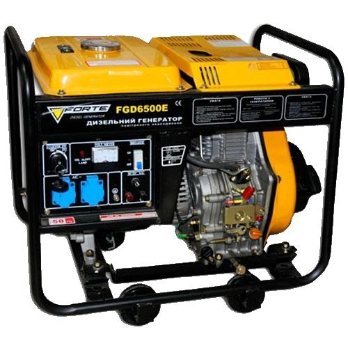 Дизельный генератор FORTE FGD6500E