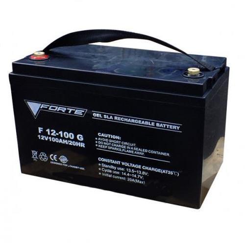 Аккумуляторная батарея FORTE F12-100 AGM