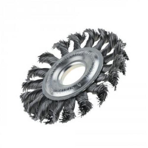 Щётка дисковая 150ммХ22,2мм плетеная проволока X-TREME