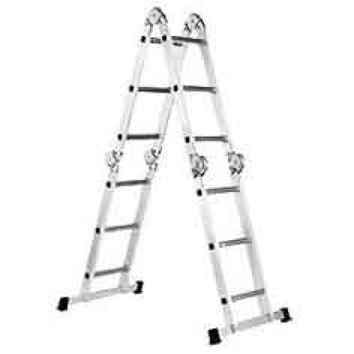 Лестница шарнирная FORTE FE4x3 без помоста