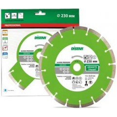 Алмазный круг Distar 1A1RSS/C3 125x2,2/1,4x8x22,23-10-HIT Premier Active