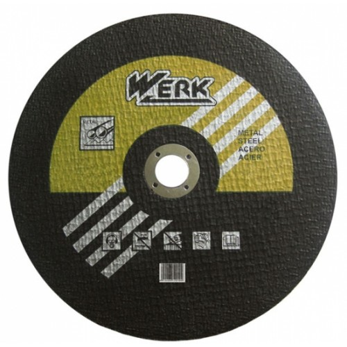 Круг отрезной по металлу 350х3.5х25,4 Werk